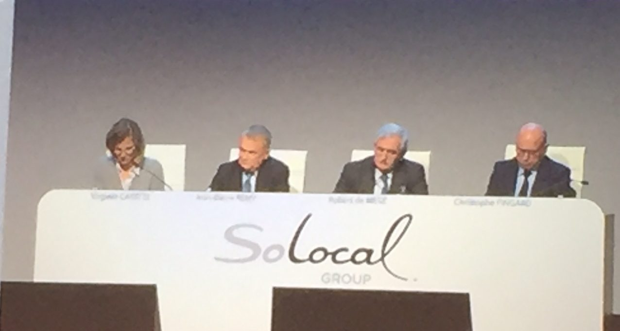 contestation des actionnaires, Jurisprudence Solocal